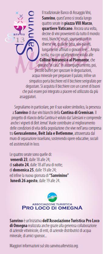 Pagina Sanvino 2013 in Libretto San Vito