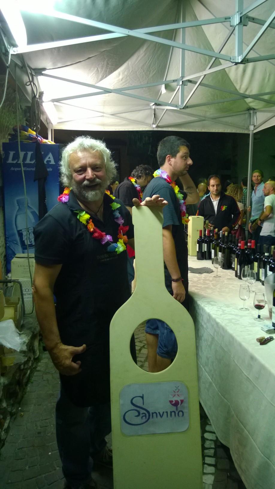 Seconda serata di Sanvino 2014: una interpretaziuone di Paolo Zazza...